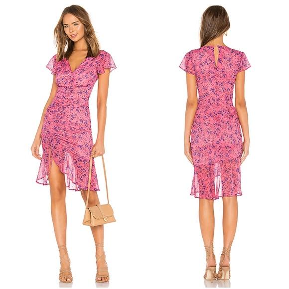 Majorelle Dresses Majorelle Revolve Elaine Midi Dress Floral Pink Sm Poshmark Revolve lovers and friends black dress. majorelle revolve elaine midi dress floral pink sm